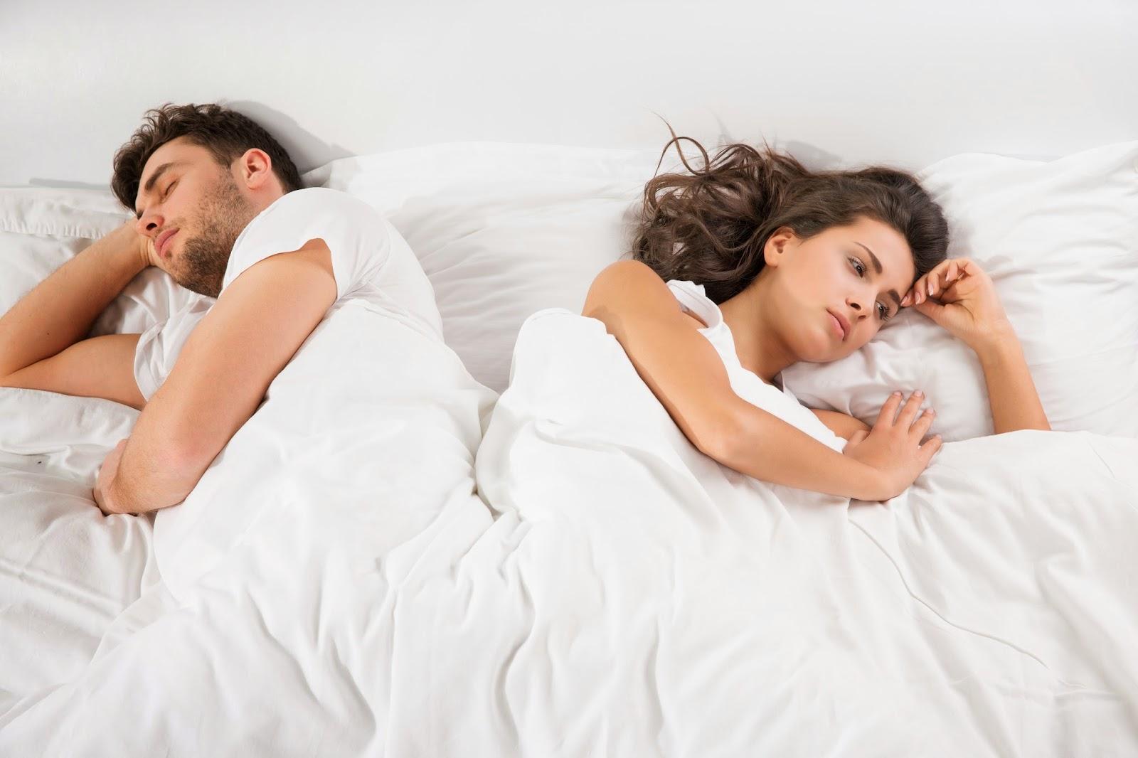 мы с женой в кровати