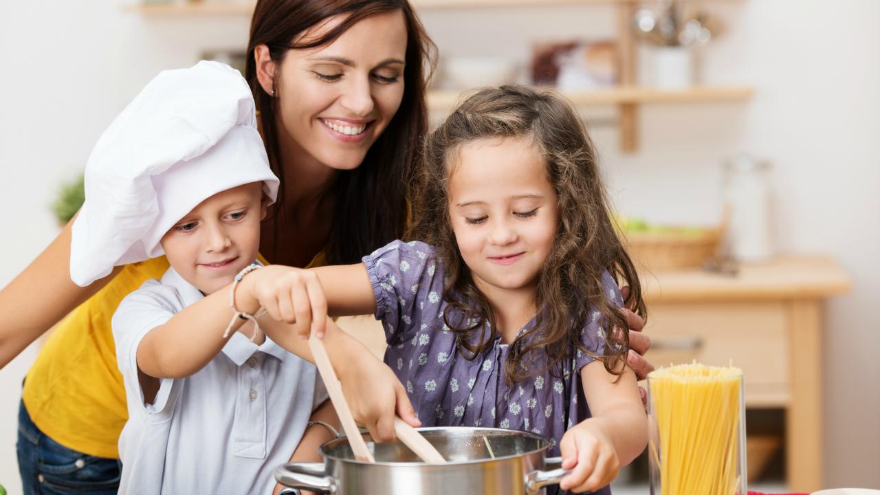 Çocuklarınızla mutfağa girmekten çekinmeyin