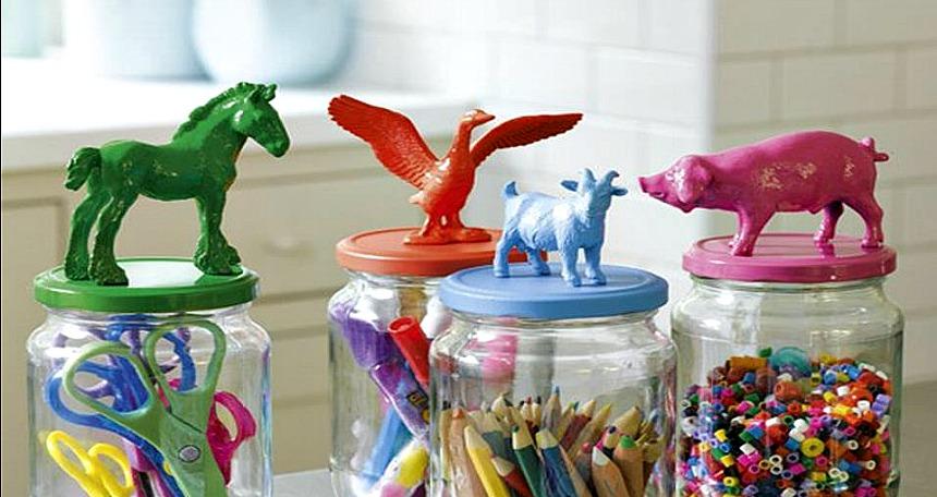 Evdeki kullanılmayan malzemeleri dekoratif objelere dönüştürmenin yaratıcı yolları 14