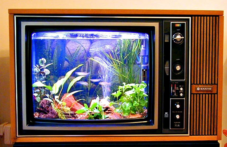Evdeki kullanılmayan malzemeleri dekoratif objelere dönüştürmenin yaratıcı yolları Eski TVniz ile fantastik bir tasar C4 B1ma imza atabilirsiniz