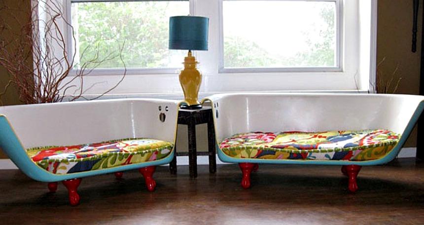 Evdeki kullanılmayan malzemeleri dekoratif objelere dönüştürmenin yaratıcı yolları Vintage k C3 BCvetlerden kanepeler