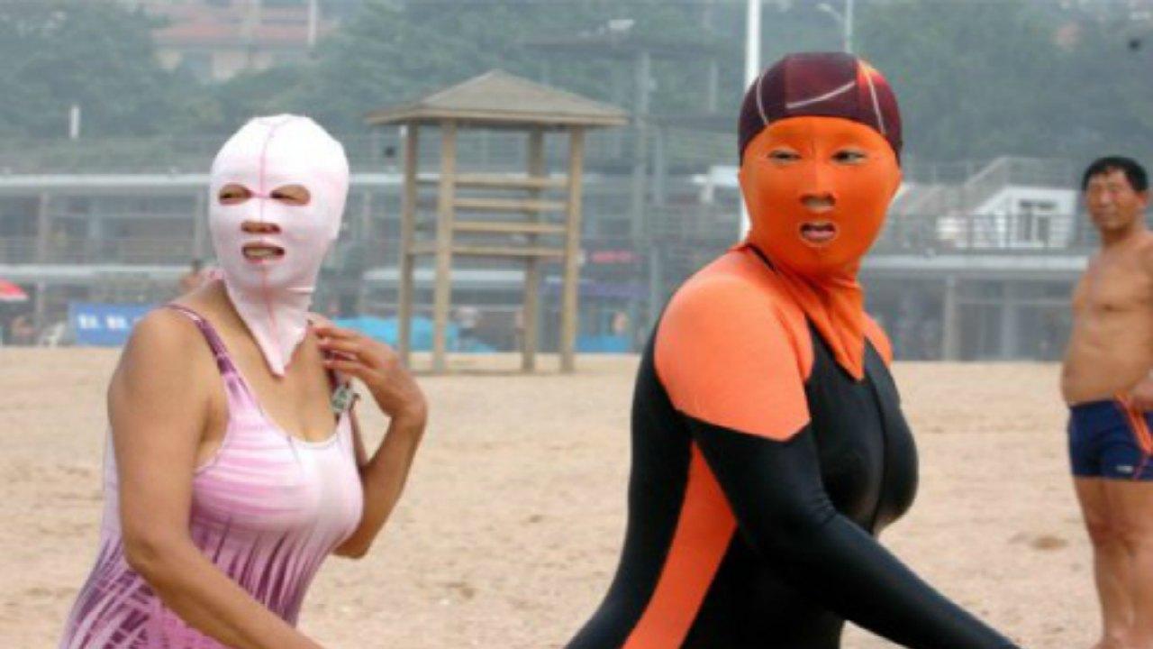 Facekini - Çin