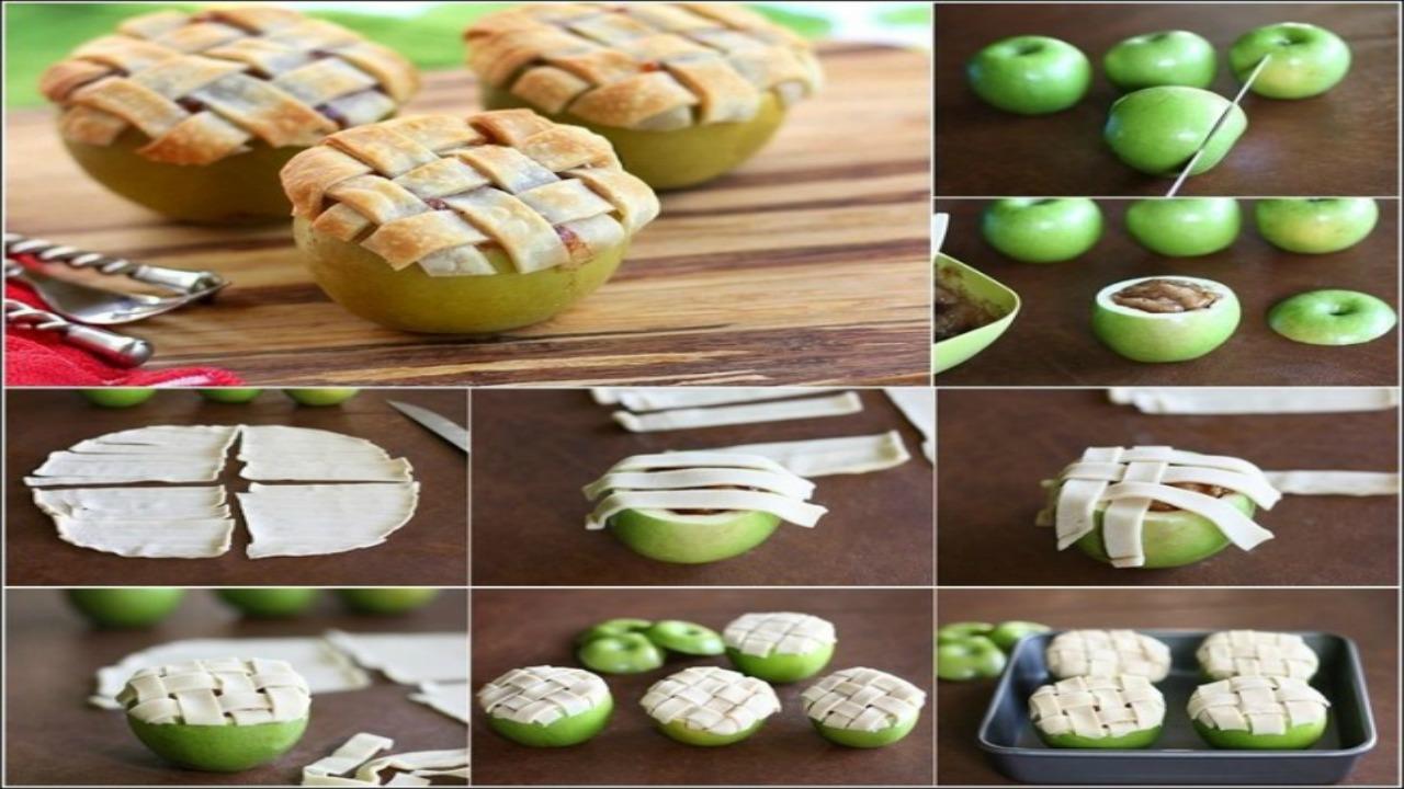 pişmiş elma