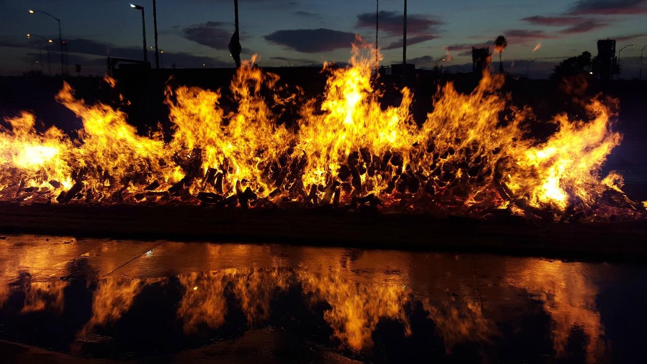 ateş üstünde yürümek