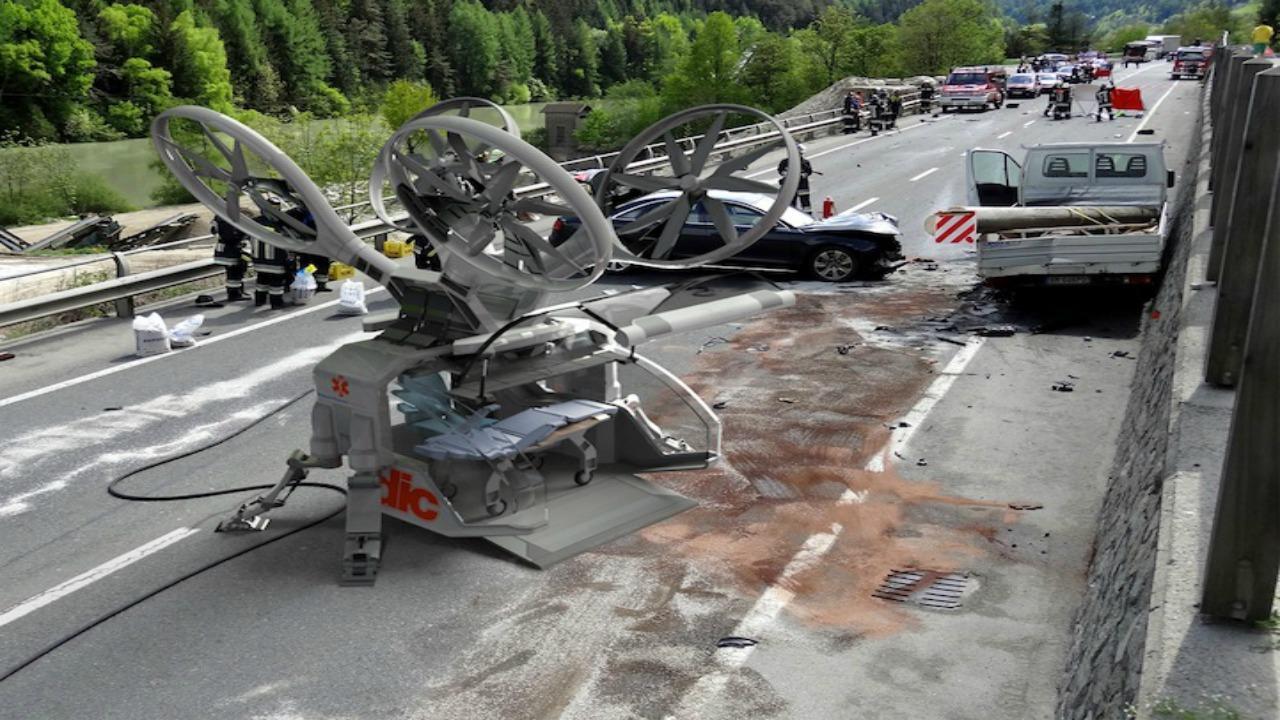 drone ambulans tasarımı