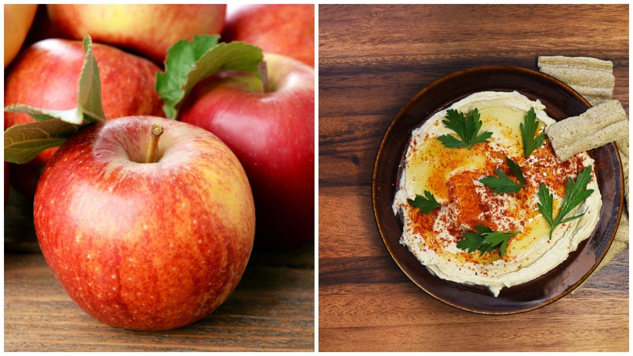 elma ve humus