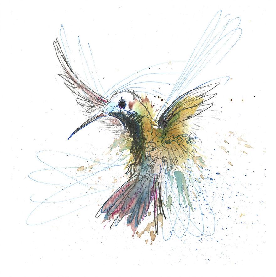 Carne Griffiths sanat kuş