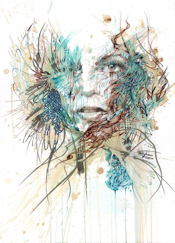 Carne Griffiths sanatçı portre sanat
