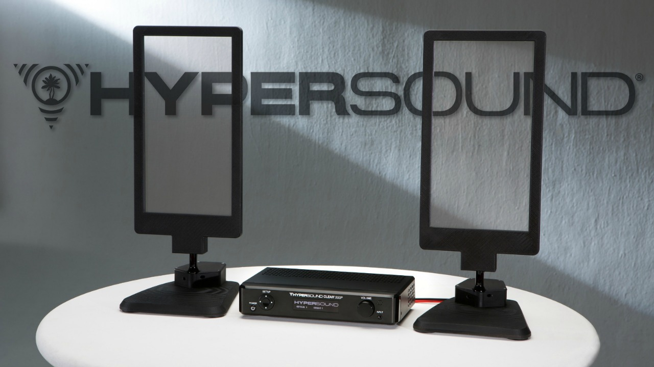 hypersound glass