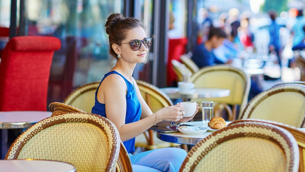 parizyen tarzı kadın