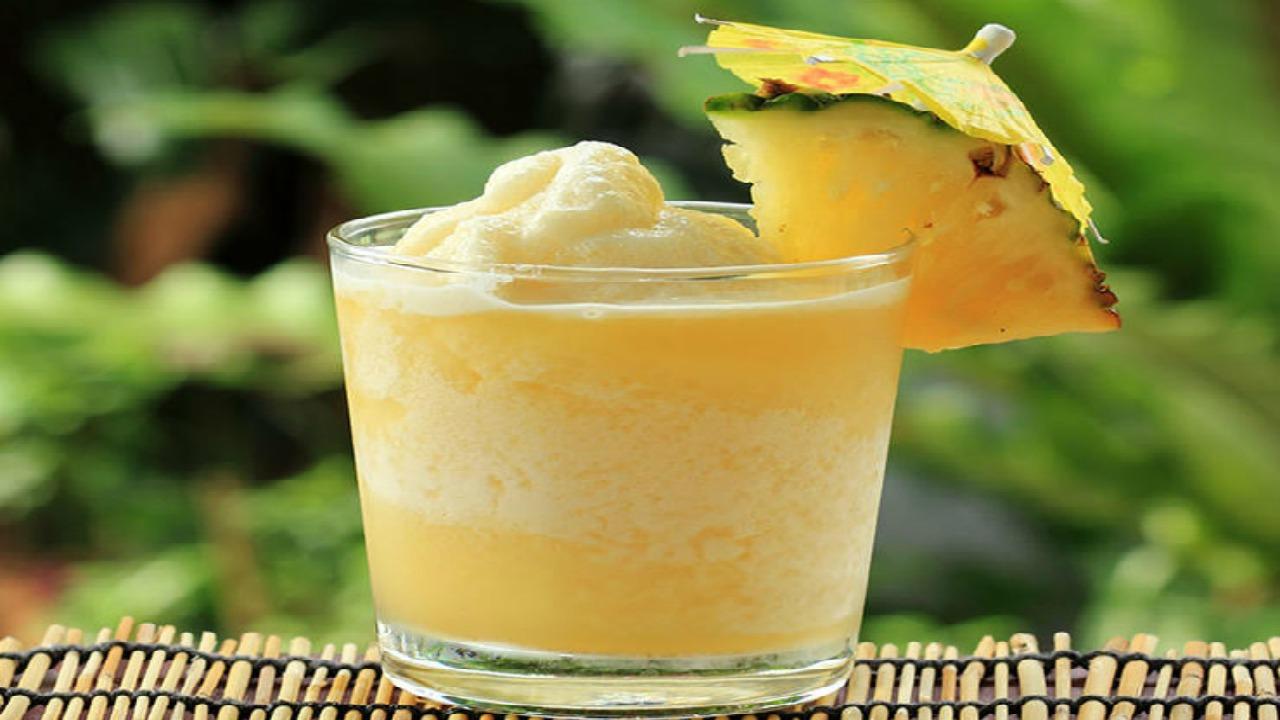 ananaslı dondurma