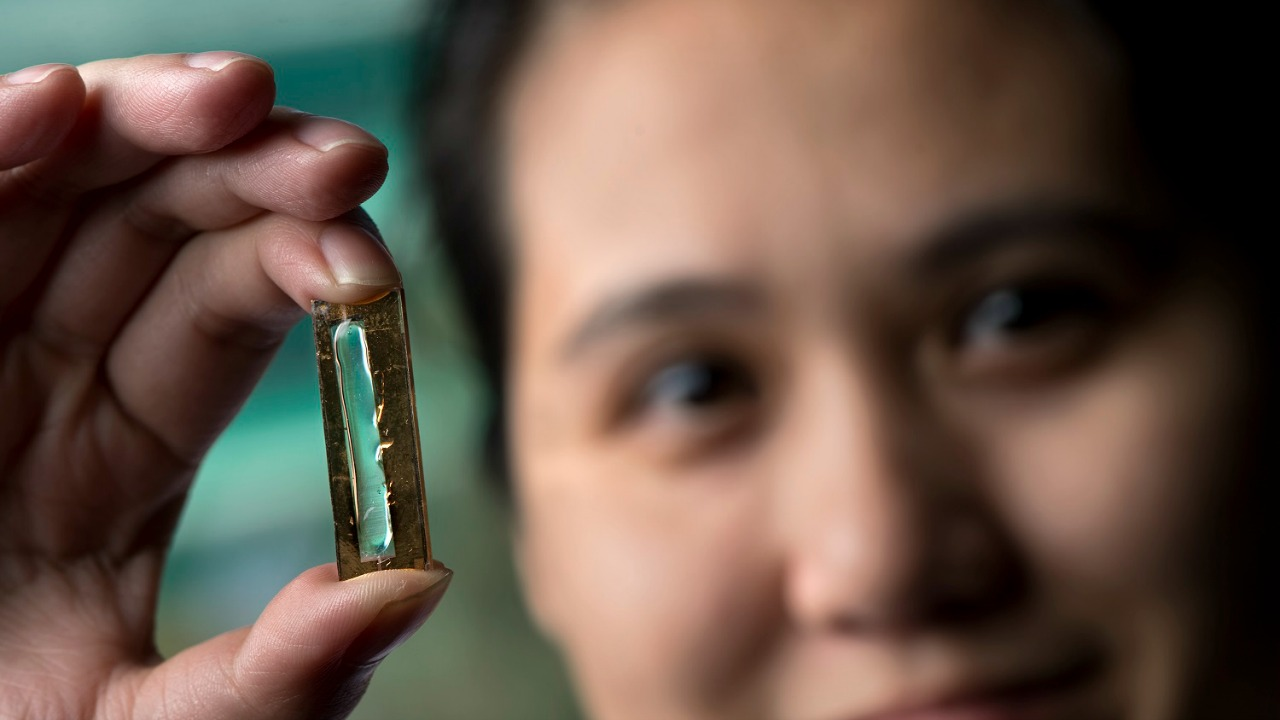 UCI chemist Reginald Penner, shown, and doctoral student Mya Le Thai have developed a nanowire-based battery technology that allows lithium ion batteries to be recharged hundreds of thousands of times. Steve Zylius/UCI