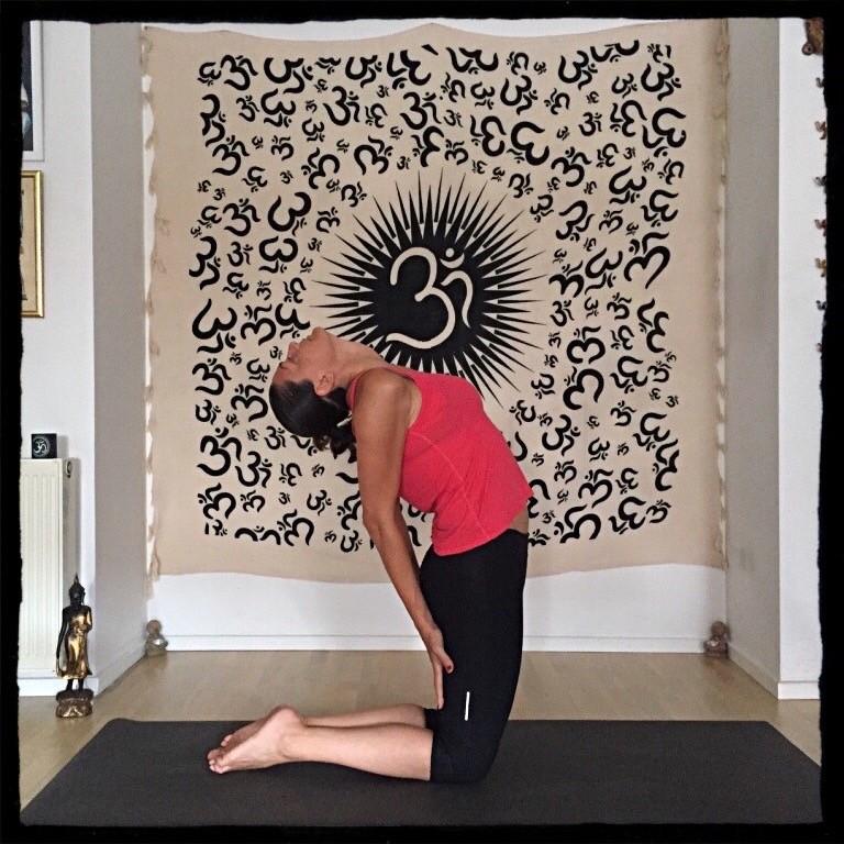 yoga pozları serisi