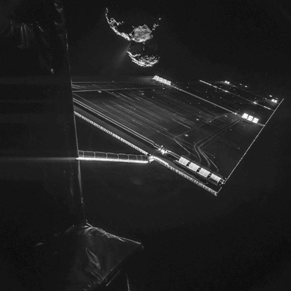 © ESA / Rosetta / Philae / CIVA   Doğayla insanın ortak çalışmasının ürünü olan şaheser fotoğraflar 205105 10106410 R3L8T8D 950 Rosetta mission selfie at 16 km 1000 dc28c348aa 1471426929