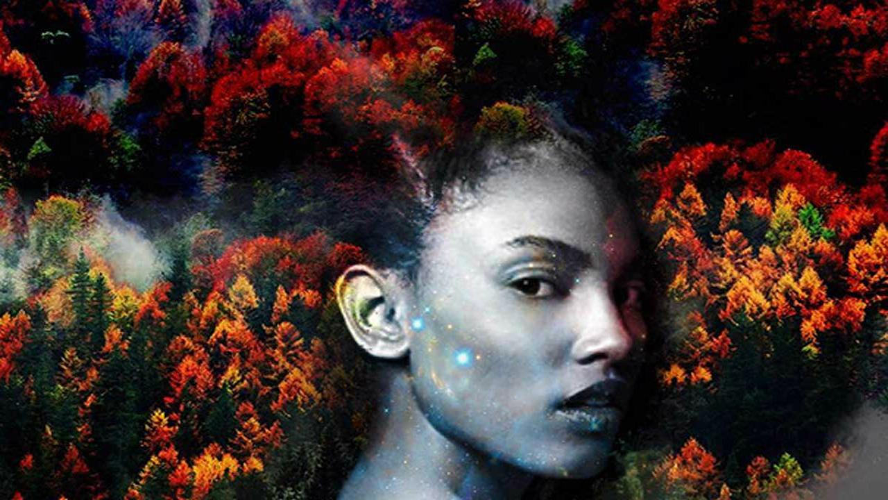 afro kadın