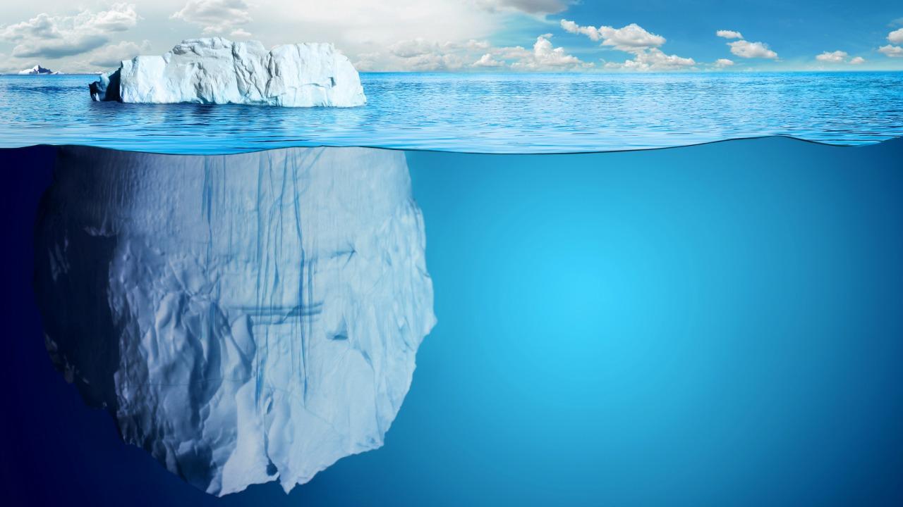 buzdağı  Hiçbir şey göründüğü gibi değil! buzdagi