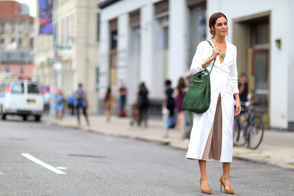 kadın modasında klasikler - kruvaze elbise