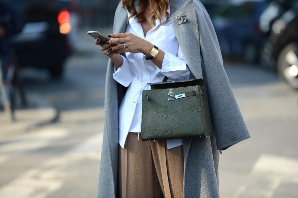 kadın modasında klasikler - saat