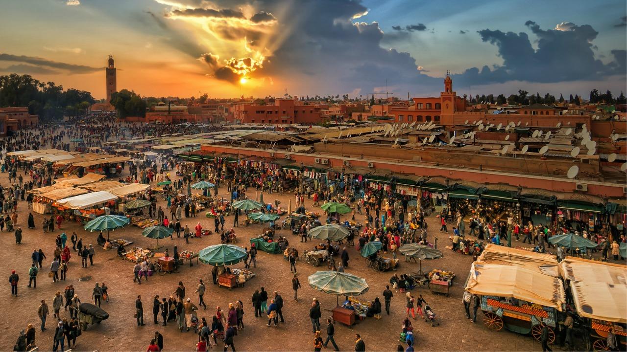 marrakeş  Yürüyerek gezilmesi gereken en güzel şehirler marrakes