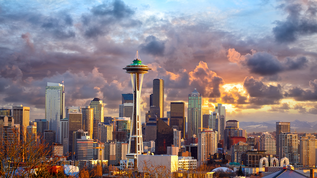 Seattle  Yürüyerek gezilmesi gereken en güzel şehirler shutterstock 248838679