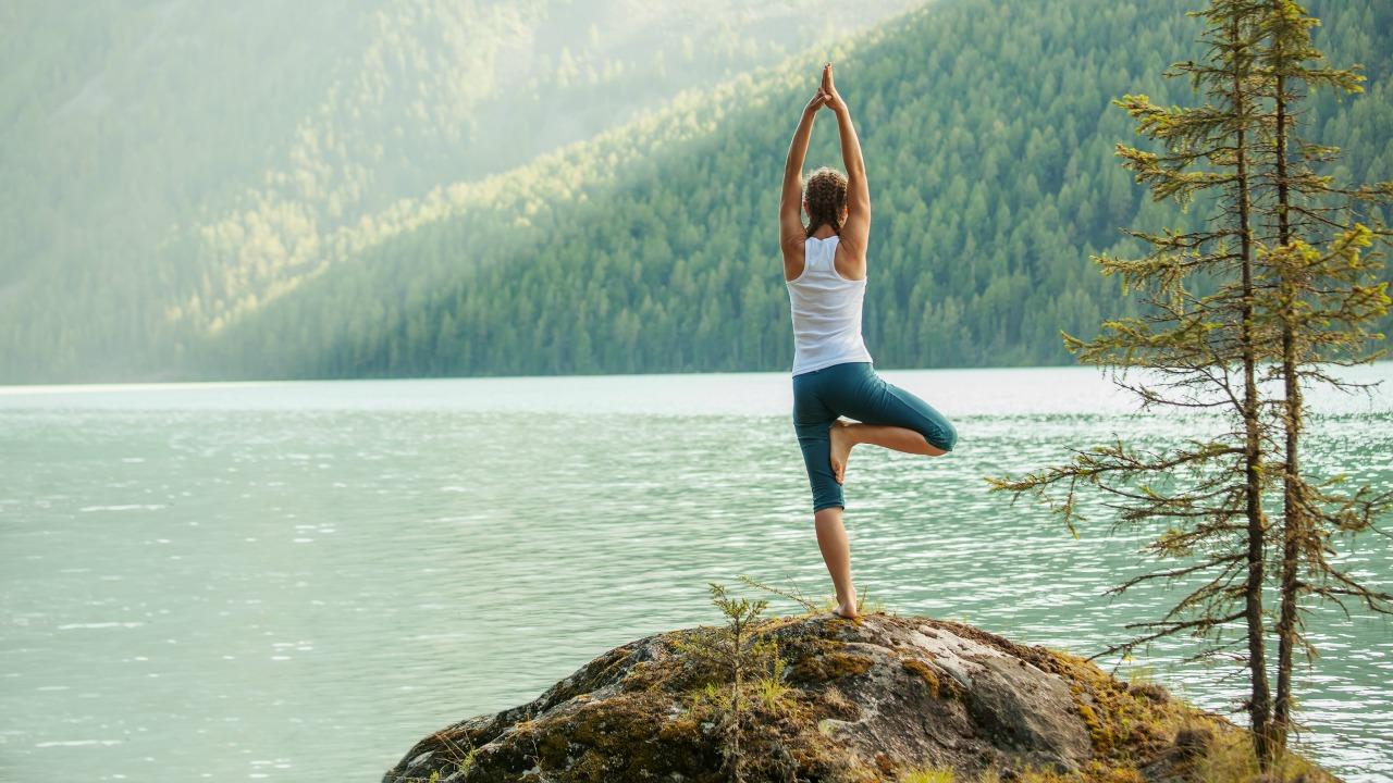 vrksasana pozu  Hayatınızda dengeyi niyet ediyorsanız bu yoga pozları sizi hedefinize ulaştıracak vrksasana pozu