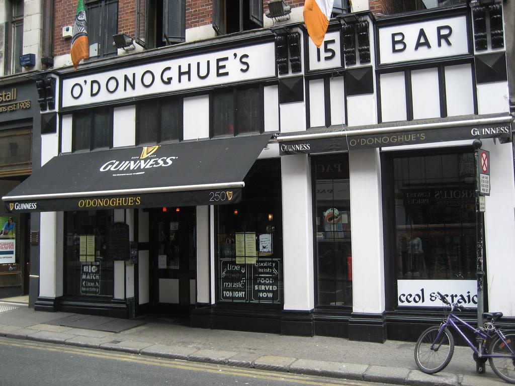 O'Donoghue's  Biranın vatanı Dublin'de bir lokal gibi içebileceğiniz 7 pub O E2 80 99Donoghue E2 80 99s