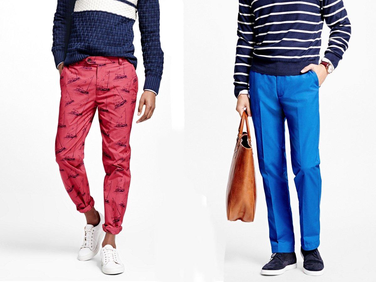 renkli pantalonlar