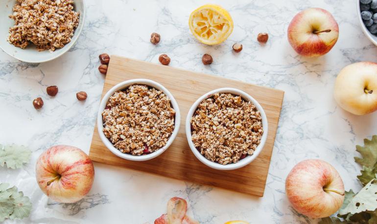 elmalı ahududulu tatlı