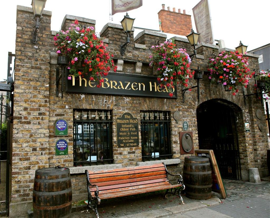 IMG_8495  Biranın vatanı Dublin'de bir lokal gibi içebileceğiniz 7 pub the brazen head