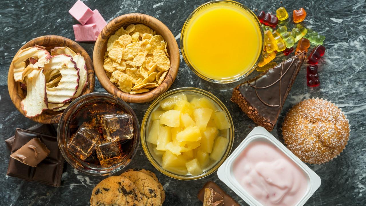 yüksek şeker oranına sahip sağlıklı yiyecekler