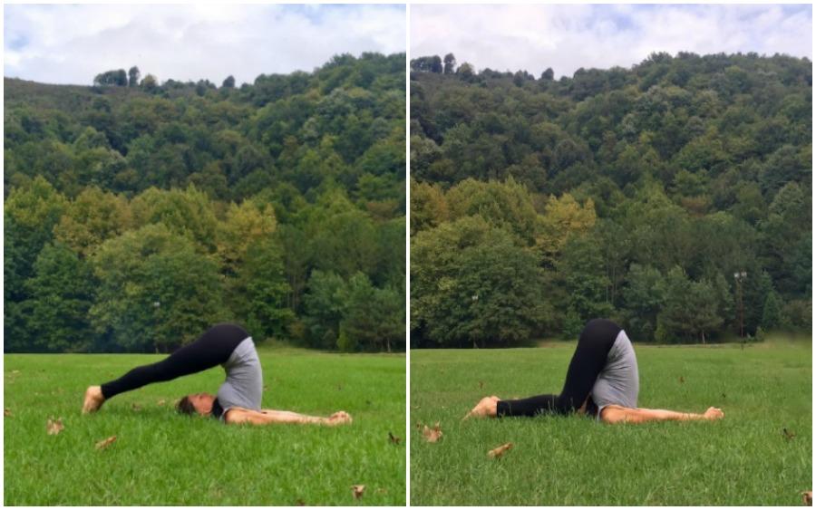 yin yoga kolaj