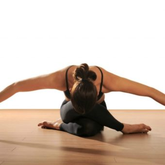 yin yoga pozu