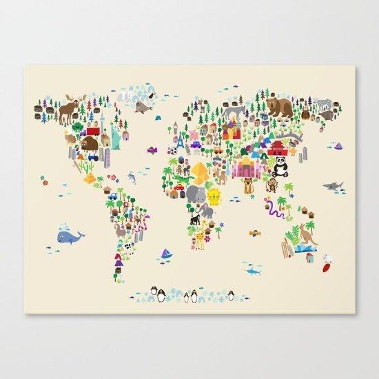 Hayvan Dünya Haritası