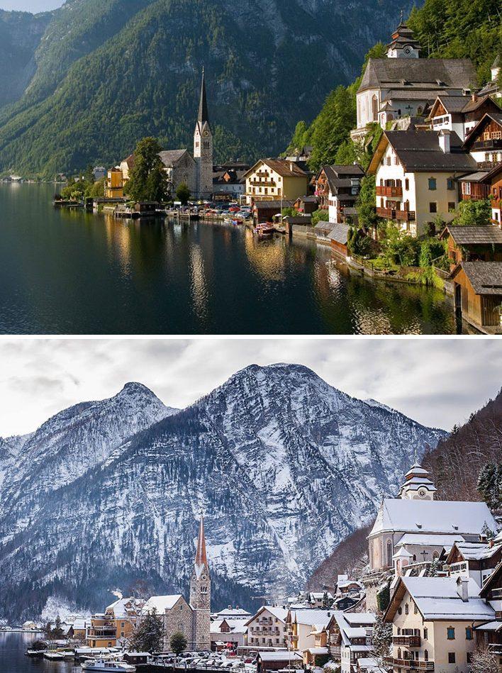 Hallstatt Köyü, Avusturya