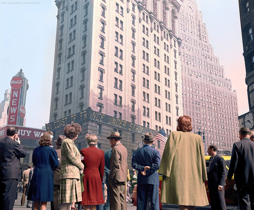 Times Square Meydanı 1944