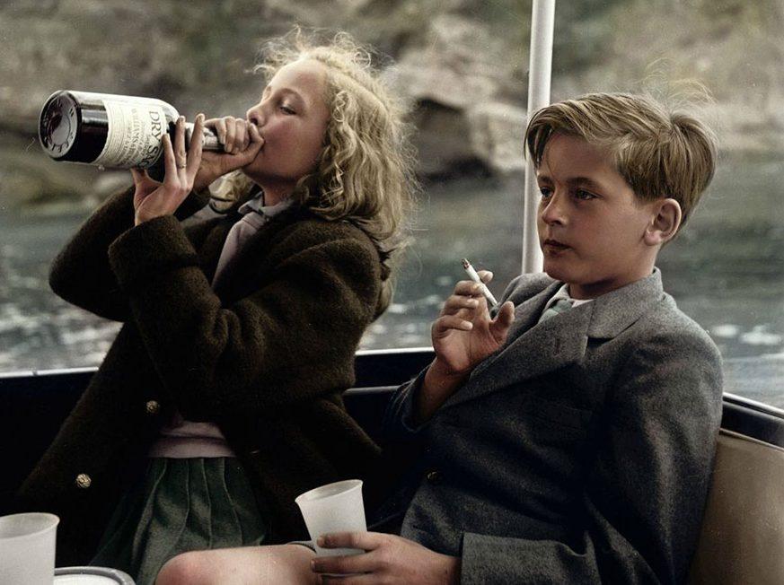 Yvonne (13) ve Alexander (12) Mayorka