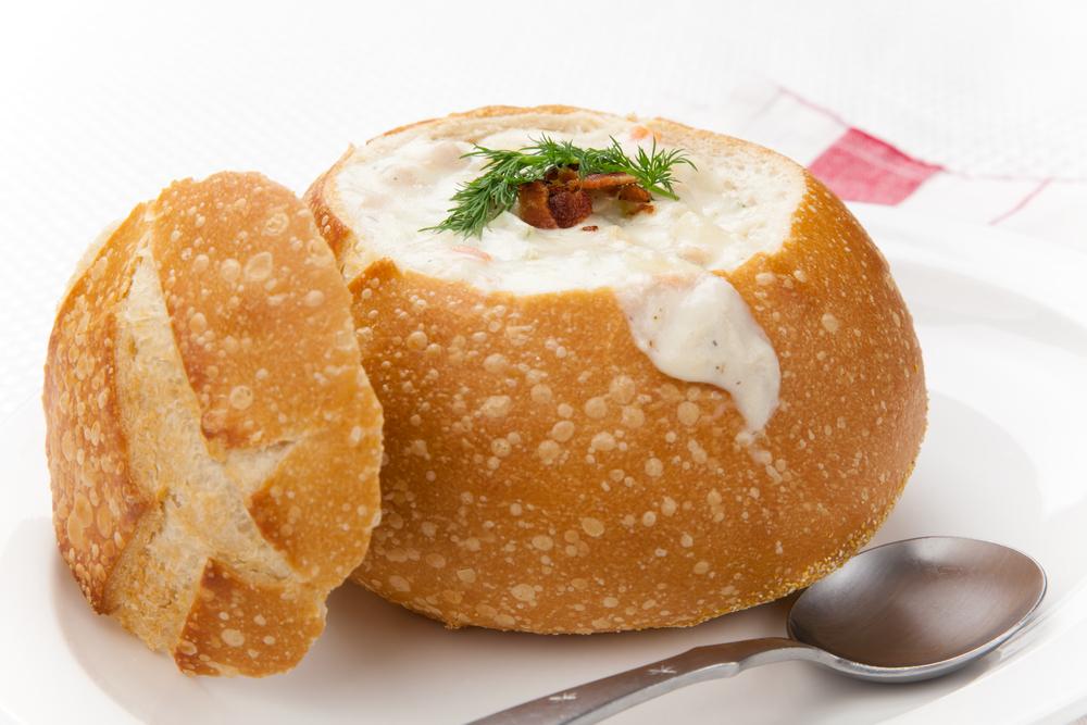 ekmek kaseli çorba