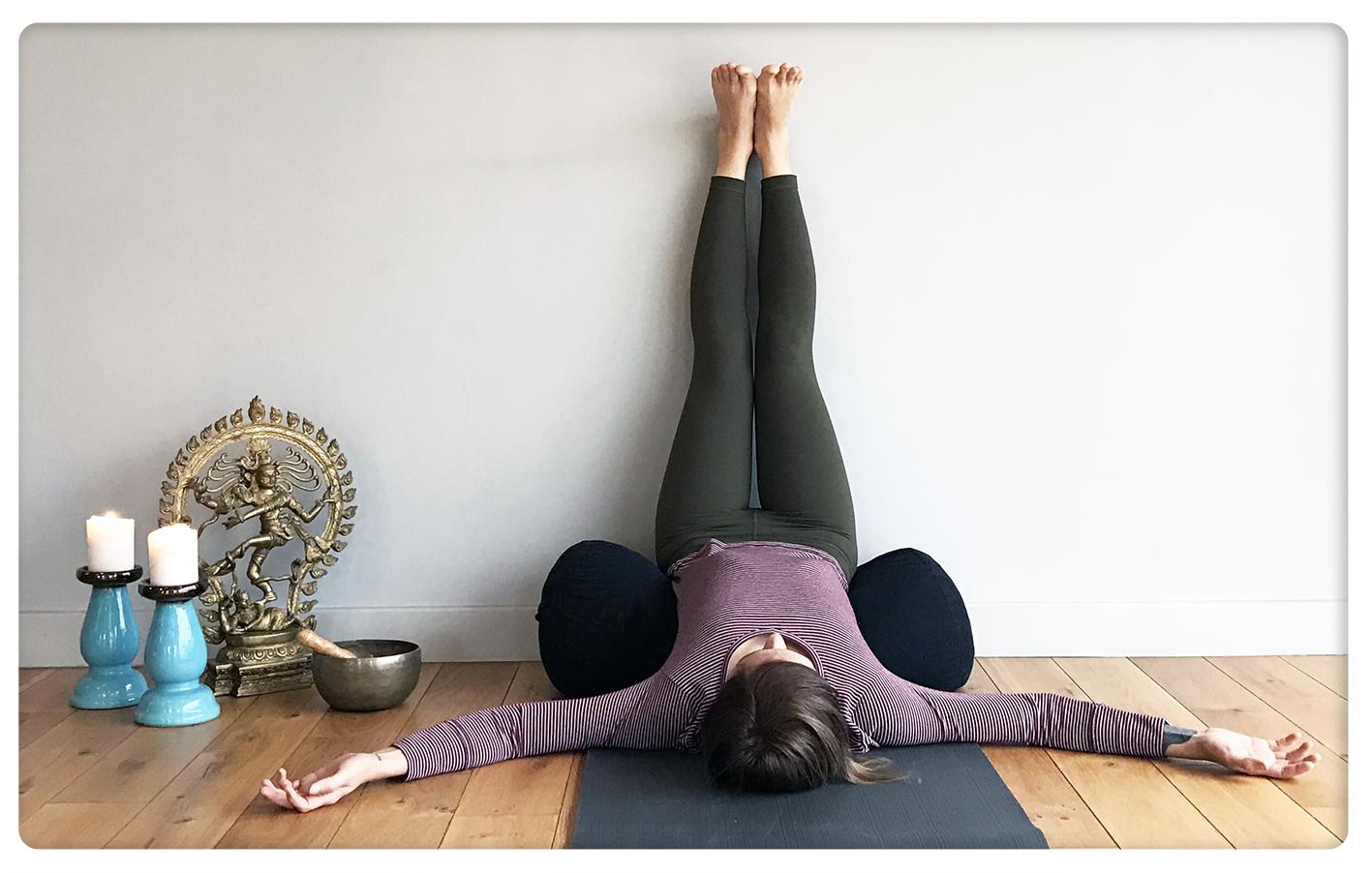 hangover yoga - sinem er - viparita karani