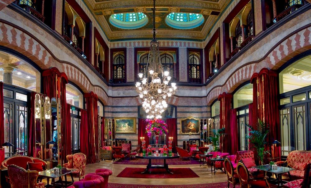 pera palace hotel jumeirah beyoglu - istanbul - yilbasi mekanlari