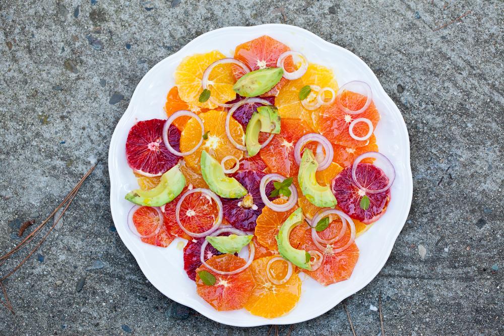 turunçgil salatası
