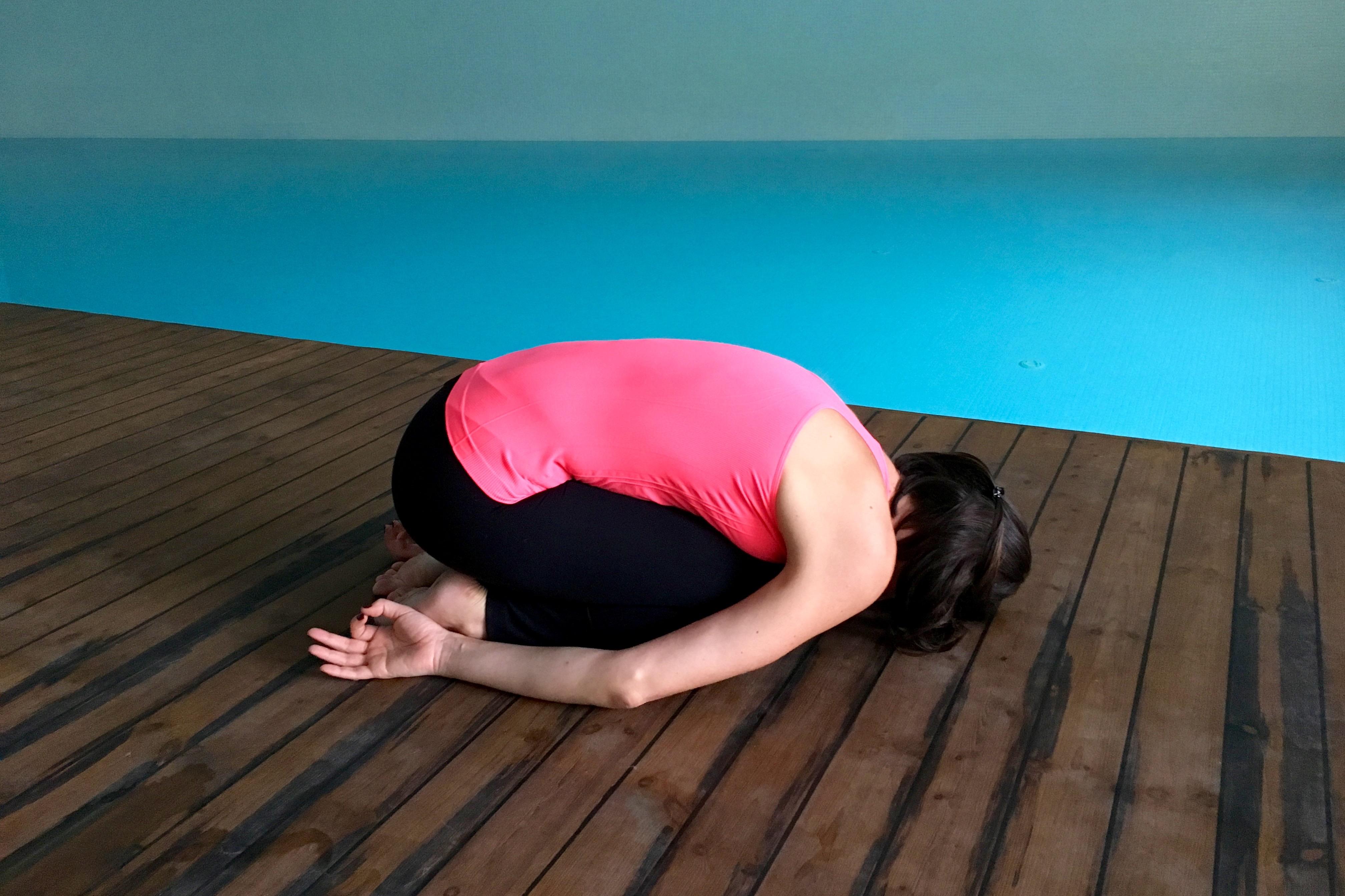 yin yoga - cocuk durusu - Balasana
