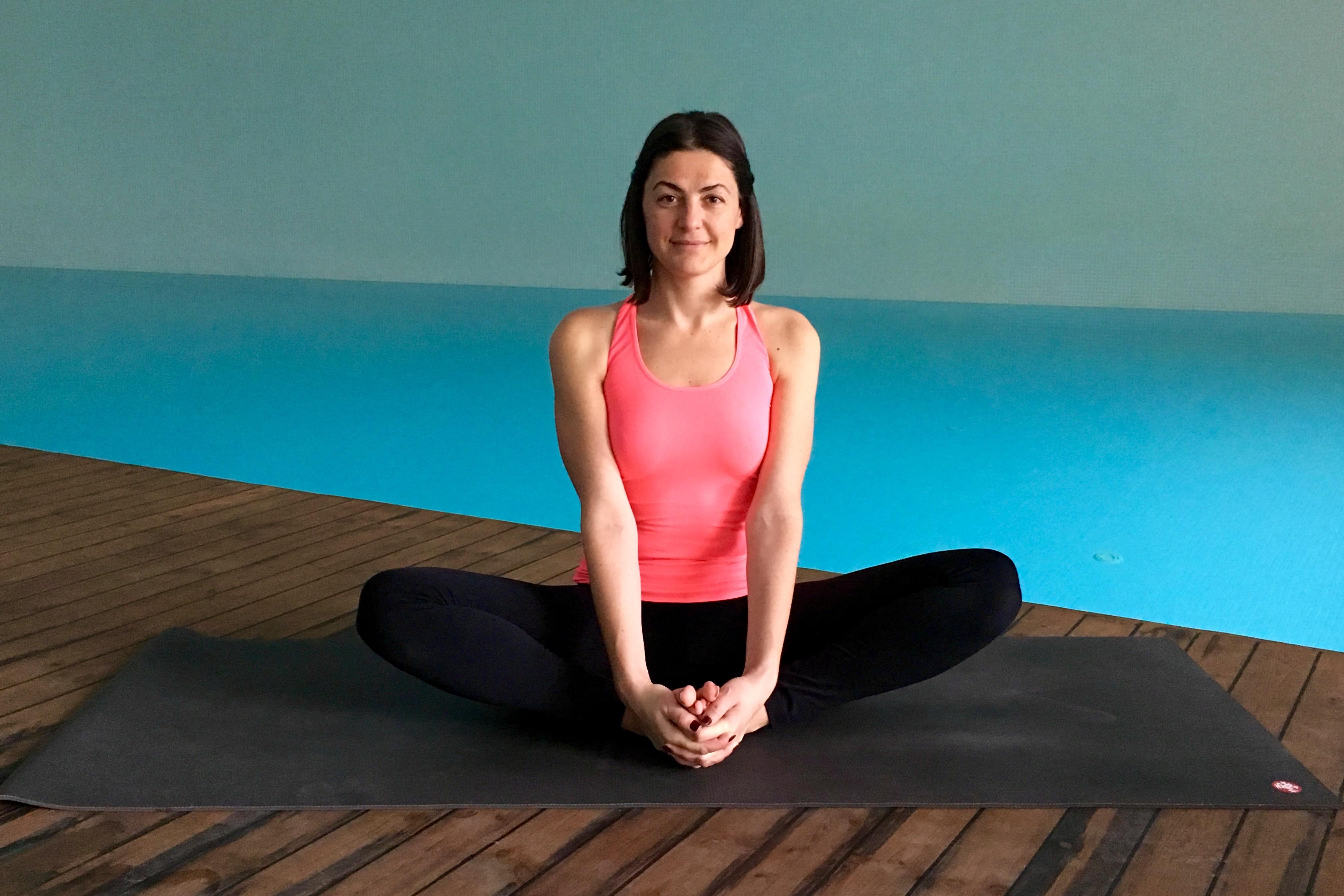 yin yoga - kelebek duruSu - baddha konasana