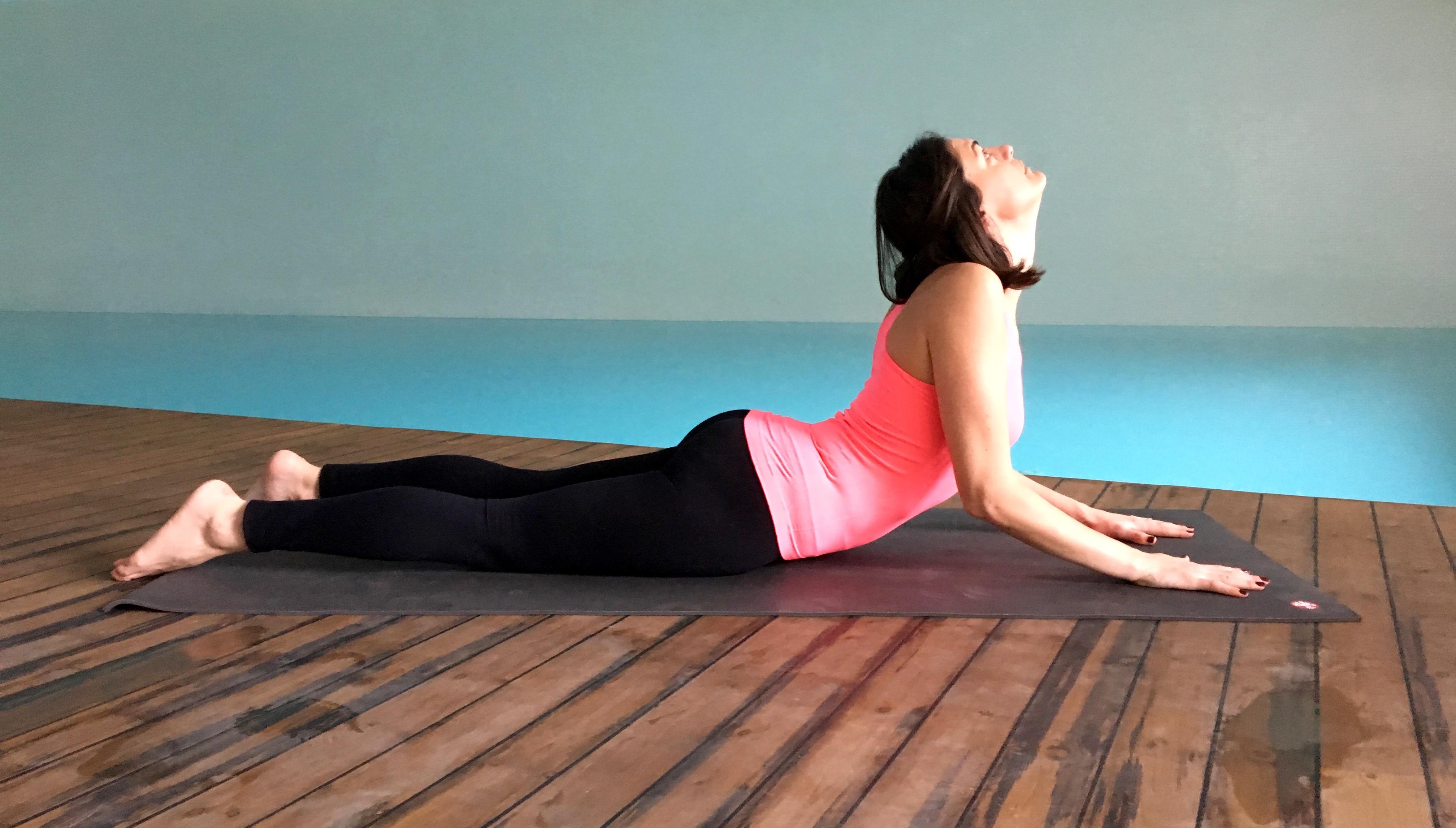 yin yoga - sfenks durusu - Bhujangasana (3)