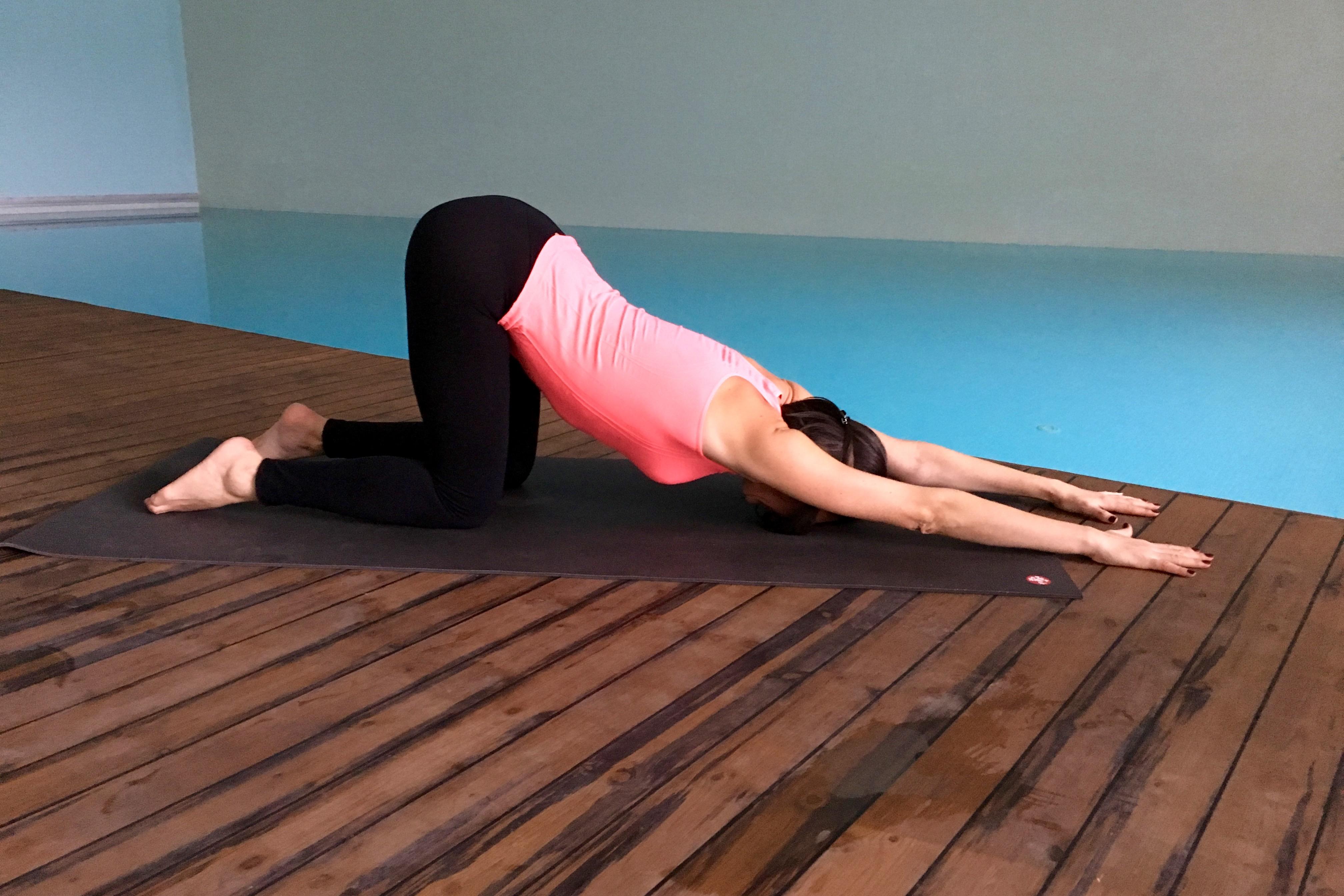 yin yoga - yavru kopek durusu - anahatasana