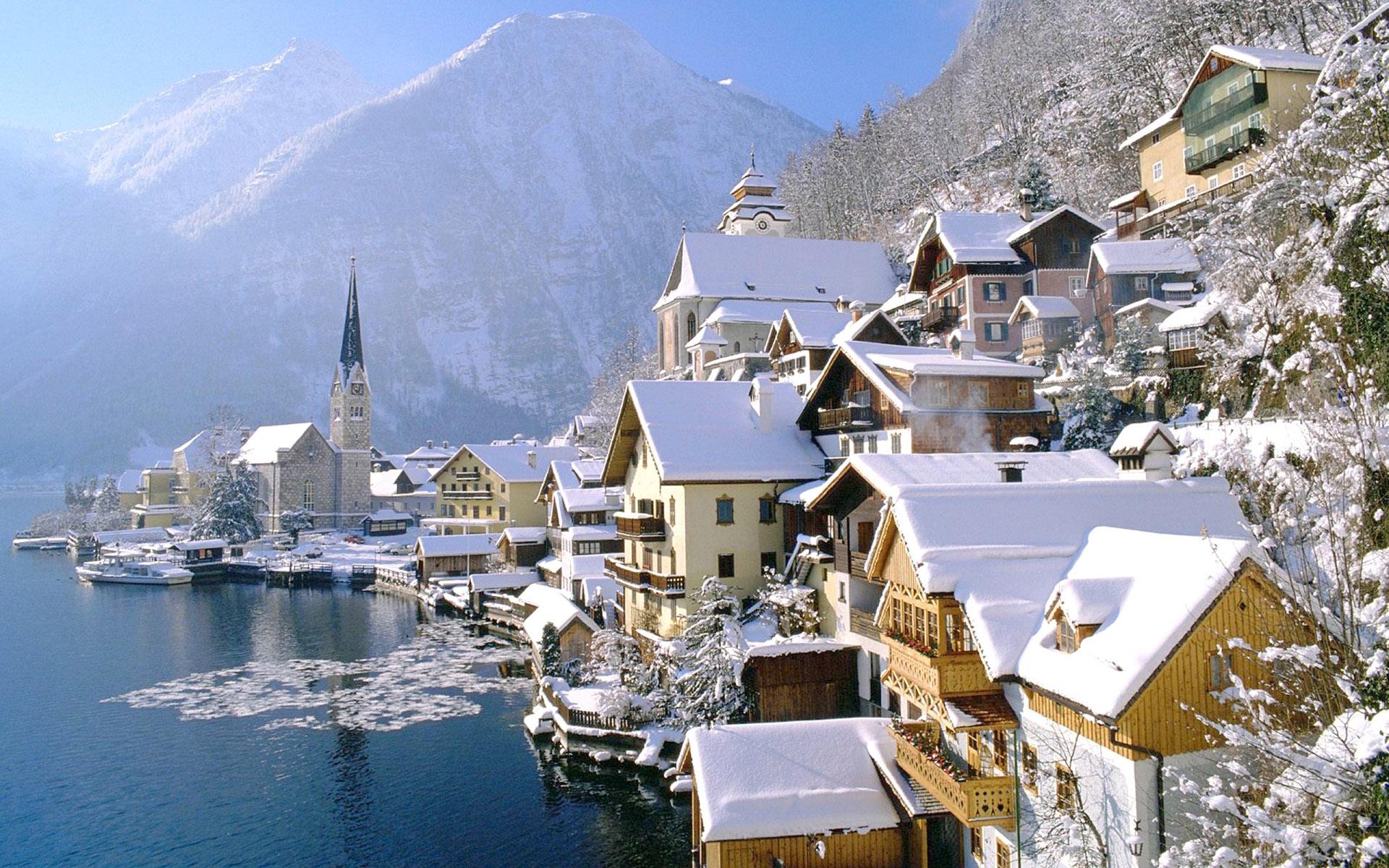 Hallstatt-winter