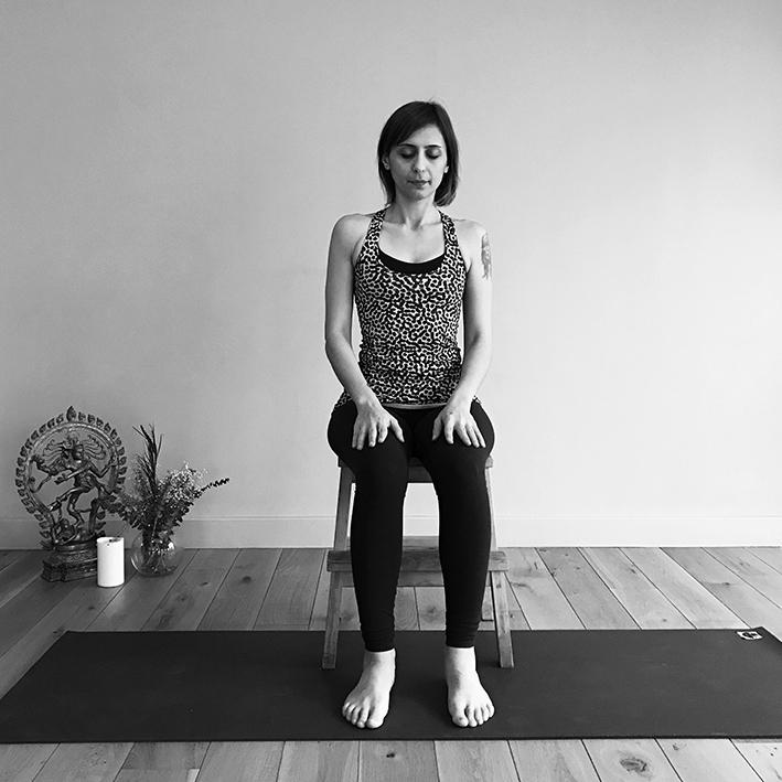 Sama Vritti nefes çalışması ve meditasyon