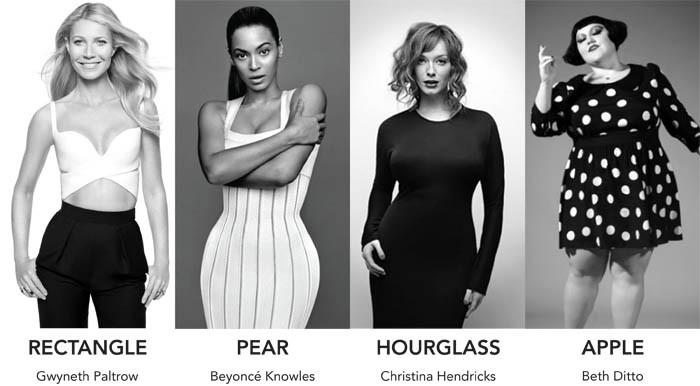 Vücut tipinize uygun giyinmek için ünlülerden ilham alabilirsiniz.