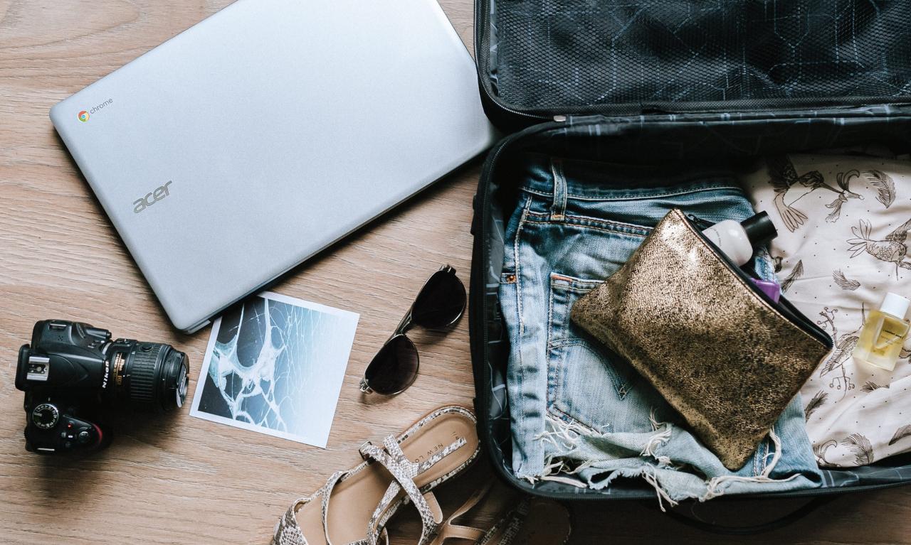 Seyahate çıkarken pratik, kullanışlı ve hafif bir bavul hazırlamanın püf noktaları