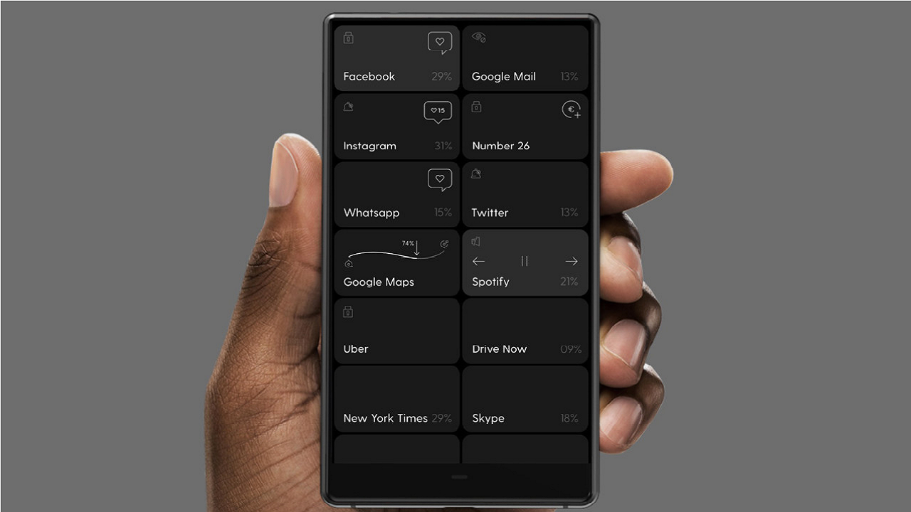 Minimalist teknolojiye en yeni örnek: Odaklanmayı merkezine alan tek renkli akıllı telefon