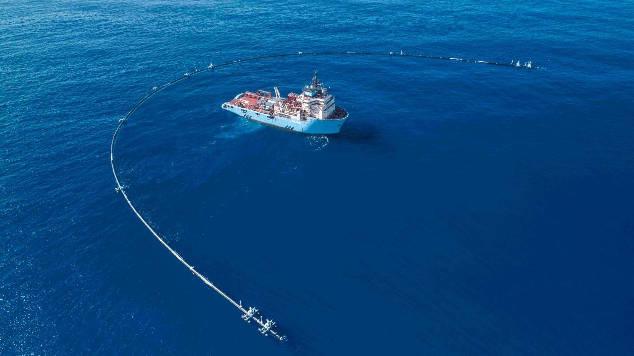 Her şey çevre için: Okyanusu plastiklerden arındıran dev buluş